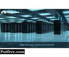Get the High Storage Dedicated Server at Cheapest Price