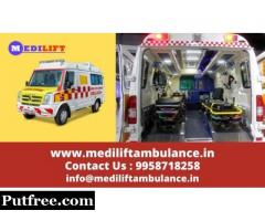 Get Advantage of Low Fare Medilift Ambulance Service in Gola Road