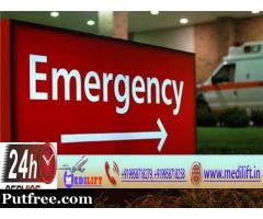 Medilift Ambulance Service in Phulwari Sharif – Low Fare Medical Transport