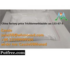 China factory price cas 133-67-5 Trichlormethiazide powder painkiller