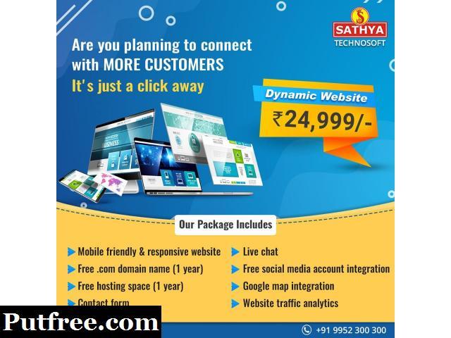 Create Professional Dynamic Website | Sathya Technosoft