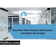 Buy Plesk Panel licenses with instant activation: Serverwala