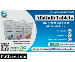 Buy Afanat Tablet Online | Afatinib 40mg Price India | Generic medicine Wholesale Supplier