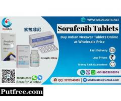 Buy Sorafenat 200mg Tablets | Generic Nexavar Supplier | Indian Sorafenib Wholesale Price