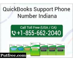 QuickBooks Support Phone Number Indiana 1-855-662-2O4O