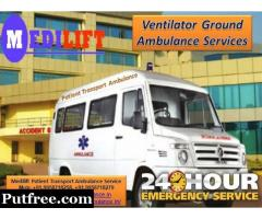 Get Medilift Road Ambulance Service in Dhanbad for Best Services
