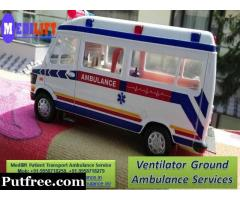 Get Medilift Road Ambulance in Tatanagar with Advance Medical Facility