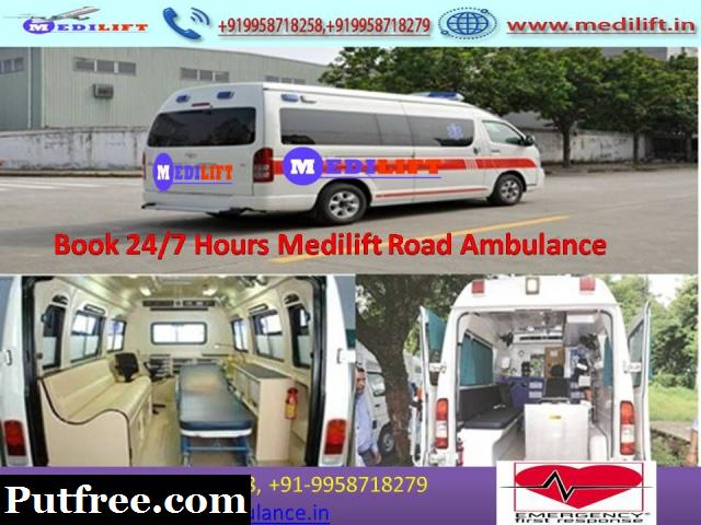 Reliable Cost Medilift Ambulance Service in Varanasi by Medilift