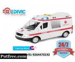 Choose Excellent Life Care by Medivic Ambulance Service in Darbhanga