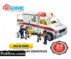 Specialist Emergency Shifting by Medivic Ambulance Service in Patna
