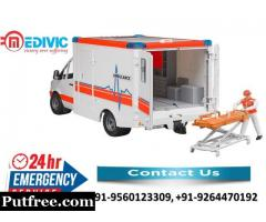 Book Cost-Effective Emergency Ambulance Service in Varanasi by Medivic