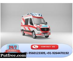Choose Medivic Ambulance Service in Patna for Instant Relocation