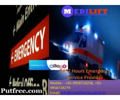 Full ICU Support Ambulance Service in Sitamarhi by Medilift