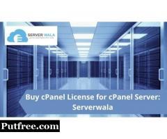 Buy cPanel License for cPanel Server: Serverwala