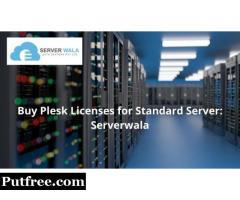 Buy Plesk Licenses for Standard Server: Serverwala
