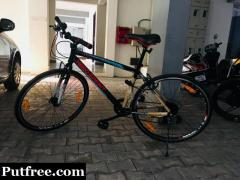 New Hybrid road cycle for fitness