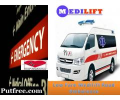 Avail Medilift Ambulance Service in Patna with Advanced Medical Facilities