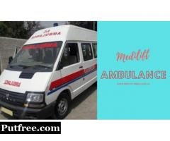 Medilift Ambulance Service in Gaya – Affordable Road Medical Transport