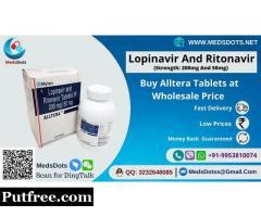 Buy Alltera 250mg Tablets Online | Lopinavir And Ritonavir Wholesale Price | Hiv Medicine Exporter