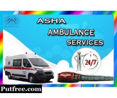 Better Quality Higher Safety Cardiac Ambulance in Patna | ASHA