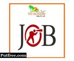 Immediate Reqirement Candidate For Online Tourism Promotion