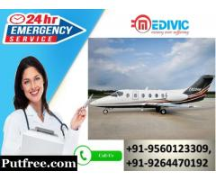 Book Cost-Effective Air Rescue by Medivic Air Ambulance Service in Kolkata