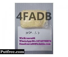4FADB Research chemical 4FADB-BICA manufacturer 4FADB high quality(WicKr:sava66)