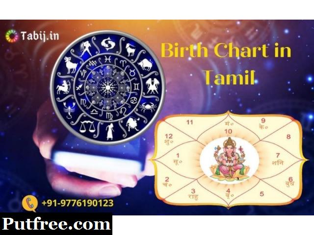 Birth Chart in Tamil: Detailed astrological analysis of your natal chart