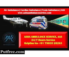 Choose ICU on Wheel Forever Ambulance Services in Patna | ASHA