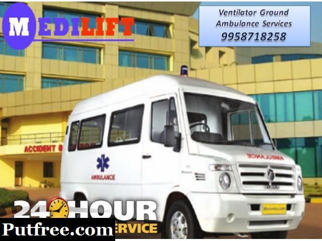 Get Best and Safe Road Ambulance Service in Dhanbad by Medilift