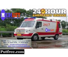 Get the Best and Fast Medical Road Ambulance in Jamshedpur at Low Cost