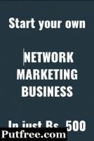 Start your own network marketing business in just rs 500