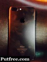 Iphone 7+ 32gb  7 month old only display change h