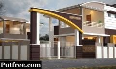 Low Budget Highly satisfied Villa For Sale in Palakkad