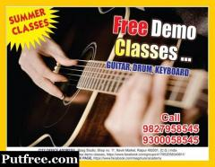 Free Guitar Classes In Raipur