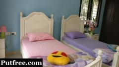 Two single cot beds