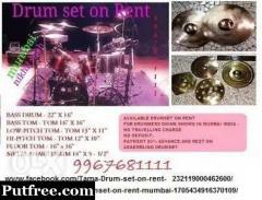 Drumset on rent mumbai