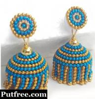 Handmade earings new designs..