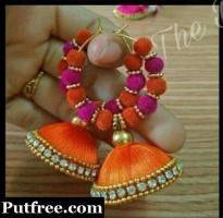 Handmade earings new designs..