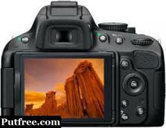 Nikon DSLR 5100 for rent