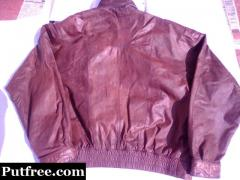 Imported biker Jacket -pure leather -reputed international brand-stylish and rugged -delivery free