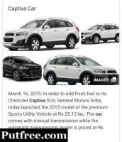 Captiva sell luxury car