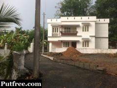 House for Sale Near St. Mary's College, Maalam, Manarcadu
