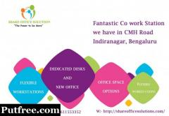 Fully Furnished Space shared office in Bangalore @ 9611553352 / 9739667778