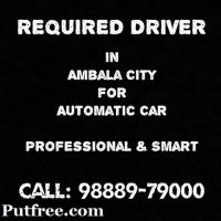 Require driver for automatic cars