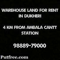 Warehouse land for rent