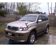 Prado 2006-07 For Rent