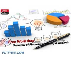 Overview of Financial Modeling & Analysis Free Workshop 10th Feb,18