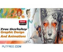 Graphic Design and Animations Free Workshop 10th Feb,18