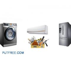 All Types Of Refrigerator Split A/C Automatic Washing Machine Repair Services 24/7